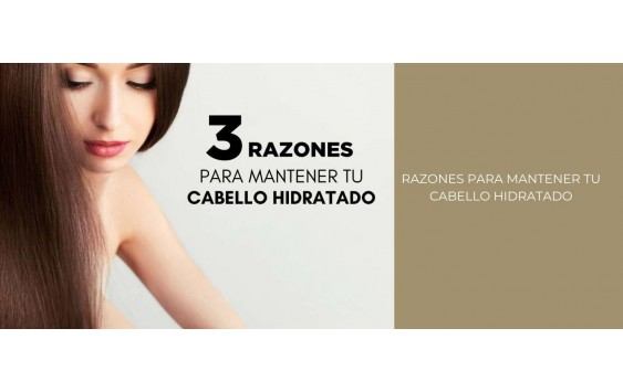 Tres razones para mantener el cabello hidratado